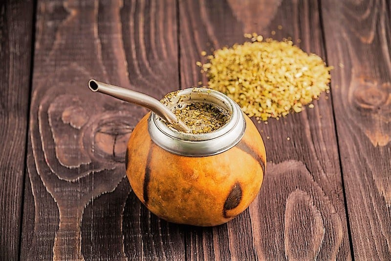 Парагвайский чай мате заваренный фото
