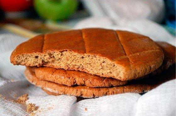 Печенье из ржаной муки с творогом рецепт фото