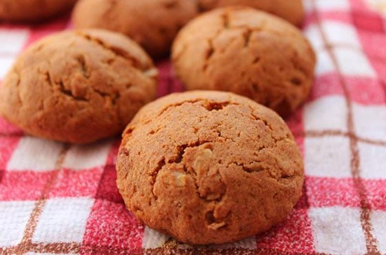 Печенье из ржаной муки с творогом фото