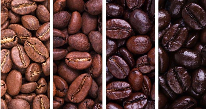 Степень обжарки кофе фото