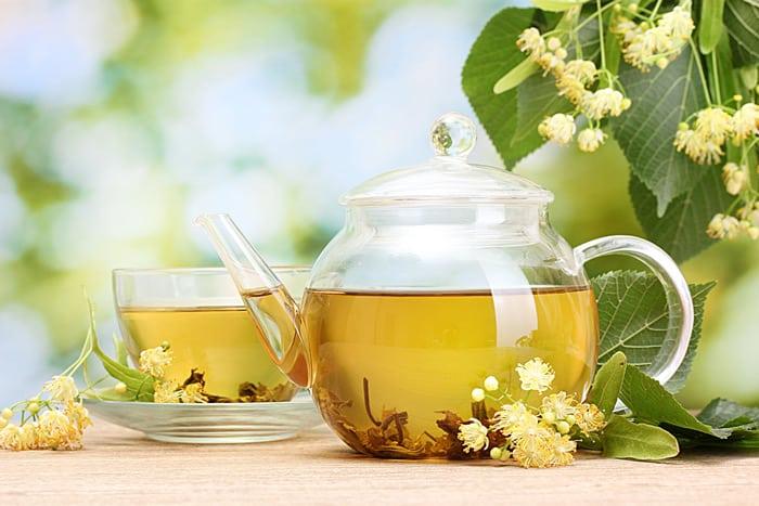 Липовый чай рецепт фото