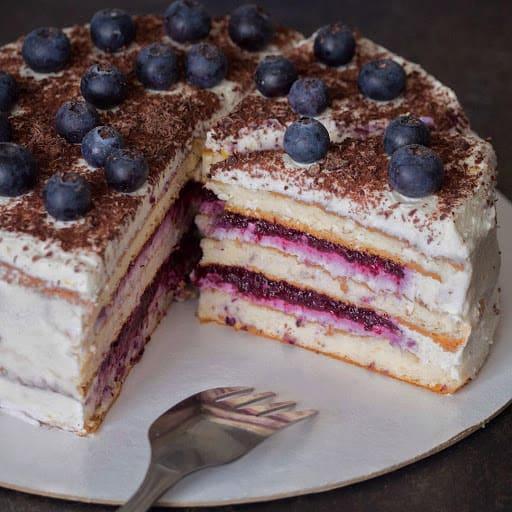 пп ягодный торт фото
