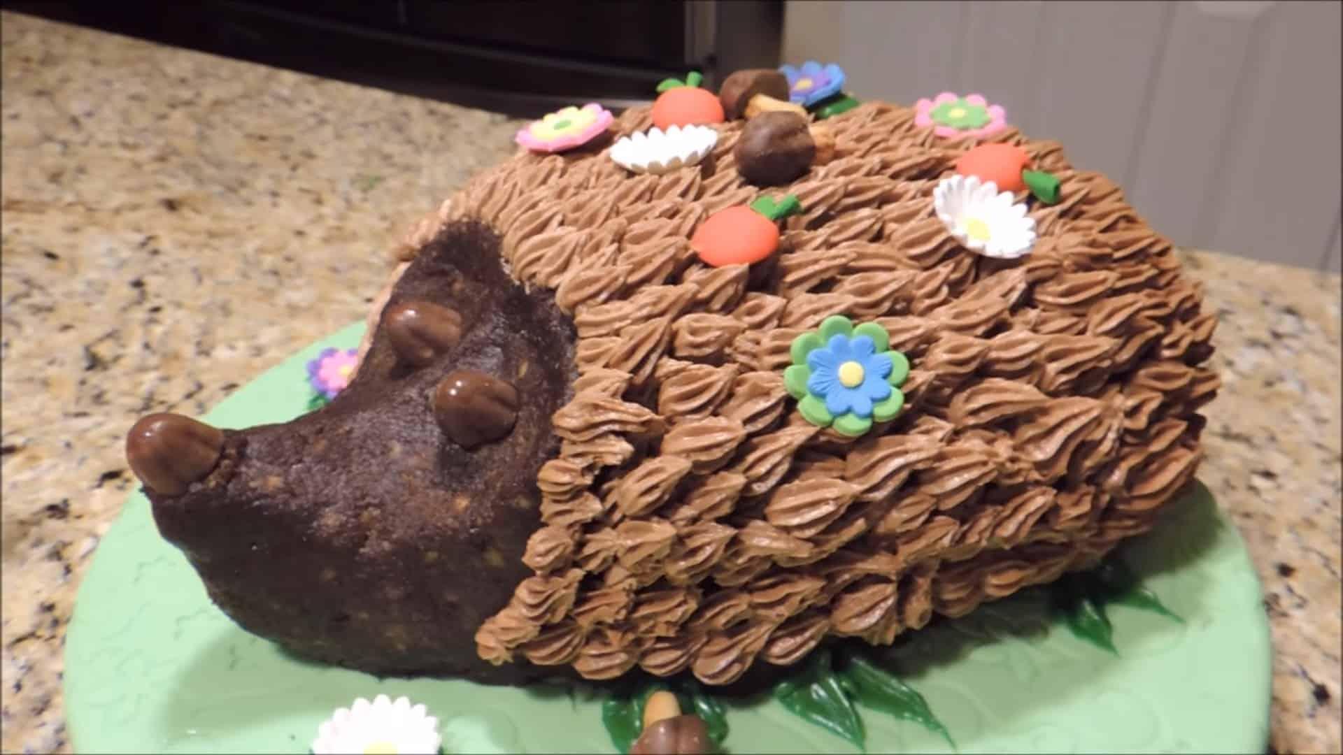 Тортик для детей Ежик