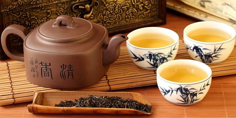 чаепитие китай