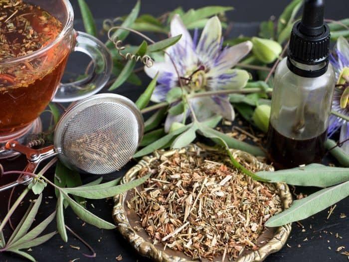 чай с пассифлоры