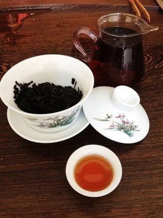 пуэр черный чай