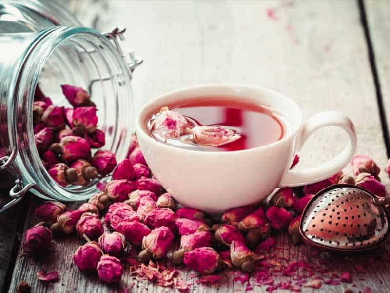 чай с роз