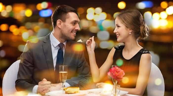 ресторан романтический ужин