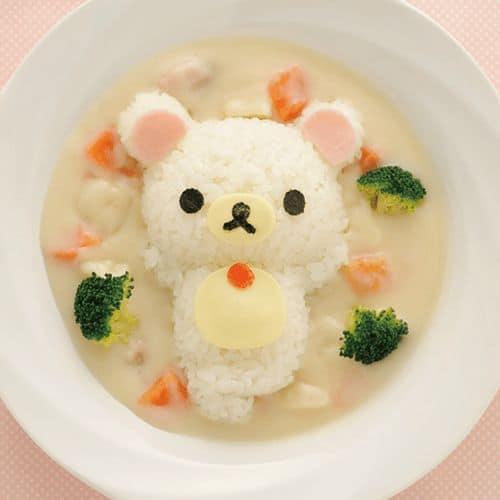 детская еда мишка