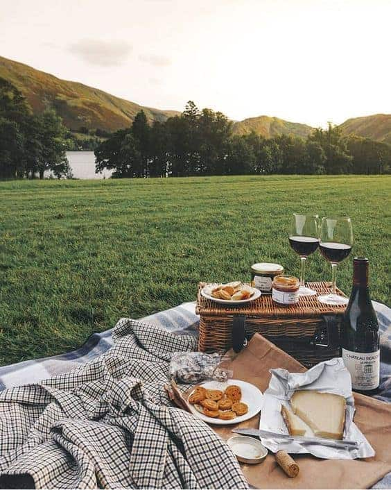 романтический пикник