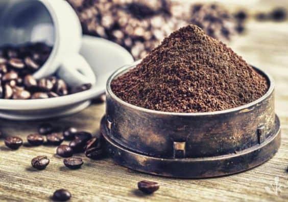 перемолотий кофе