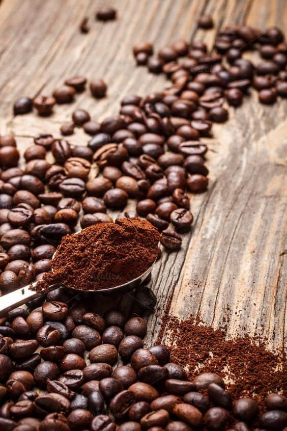 кофе молотый и зерна