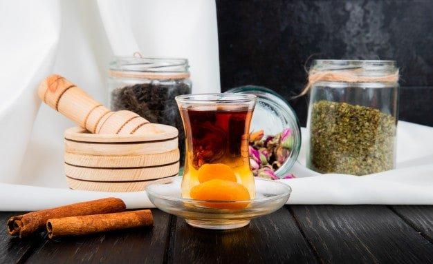 Чай с курагой приготовление фото