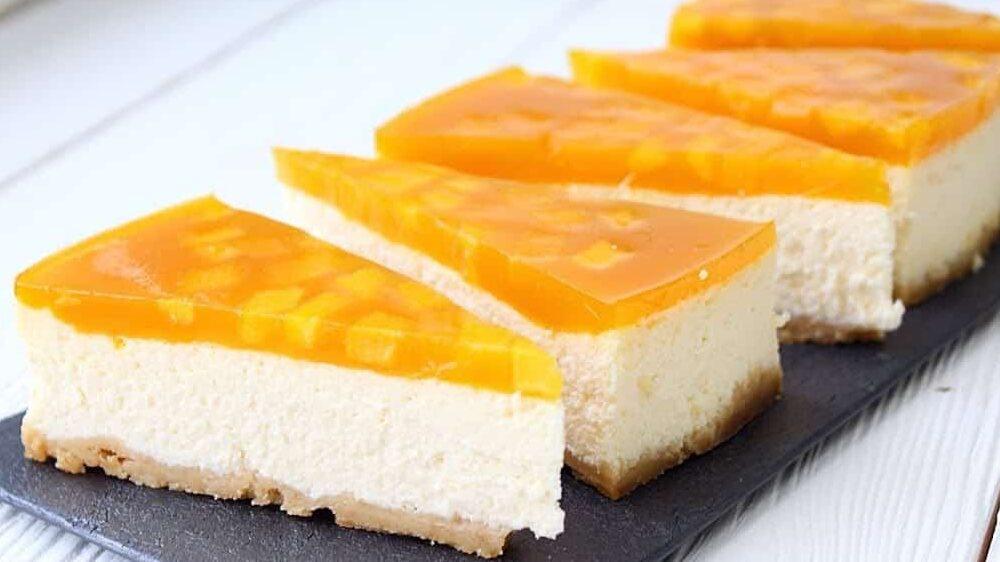 чизкейк с апельсином фото