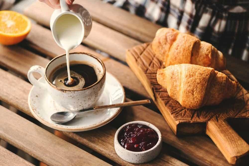 кофе с молоком фото