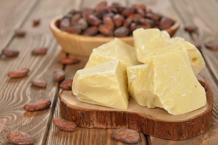 масло из какао бобов фото