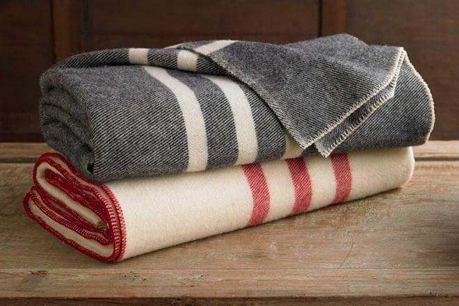 Шерстяные одеяла фото