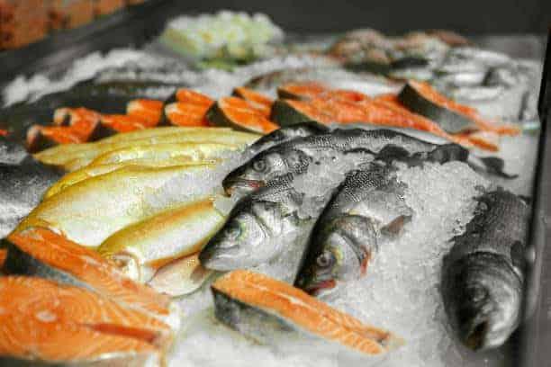 лосось замороженный фото