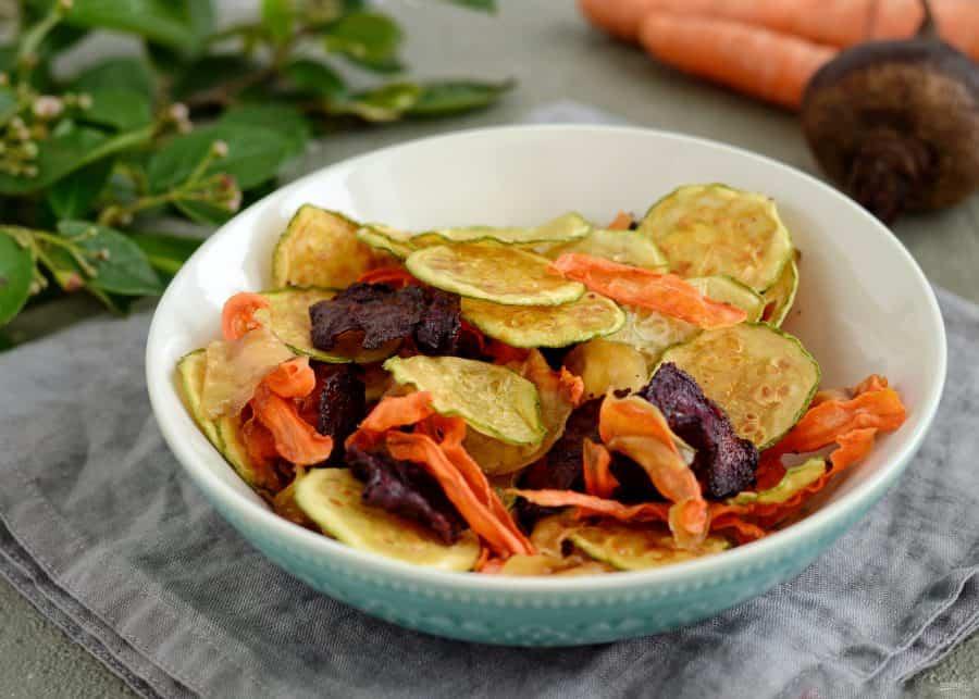 овощные домашние чипсы фото