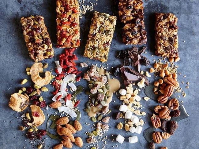 сухофрукты с шоколадной стружкой фото