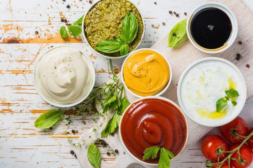 различные соусы фото