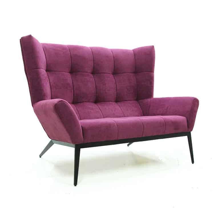 розовый диван фото